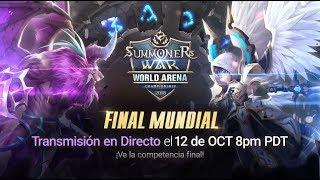 [ES] SWC2018 World Finals @Seoul |Summoners War |서머너즈워