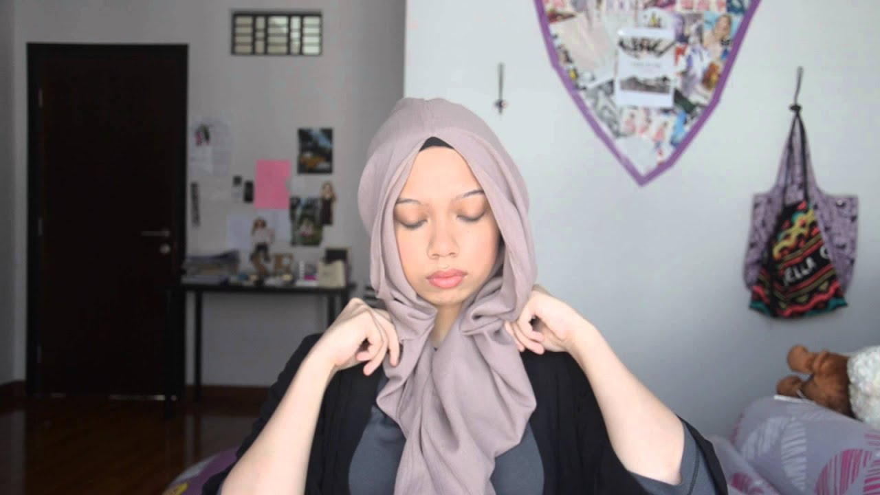 UNIQLO X Hana Tajima 4 Easy Hijab Tutorial Ideas YouTube