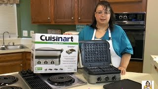 Cuisinart Griddler Unboxing & Review GR-4N