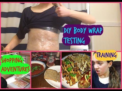 DIY BODY WRAP TESTED + TARGET ADVENTURES | Zoe Rebekah