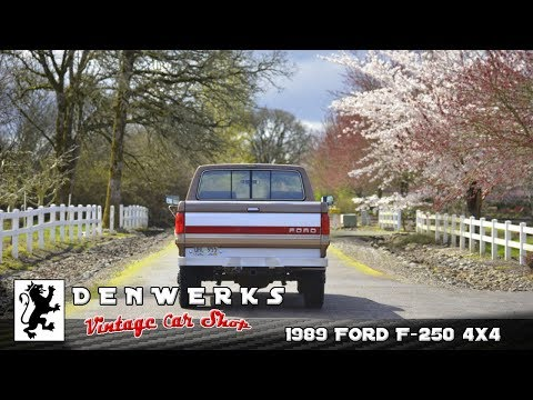1989 Ford F250 Lariat 4X4 68K DENWERKS / BRING A TRAILER AUCTIONS