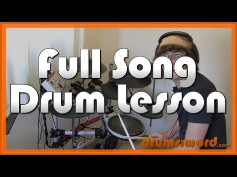 ★ Hysteria (Muse) ★ Drum Lesson PREVIEW | How To Play Song (Dominic Howard)