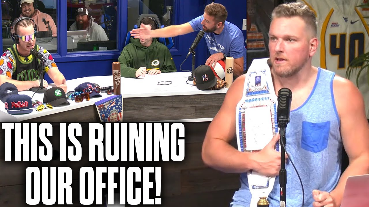 This Is Tearing Pat McAfee's Office Apart!