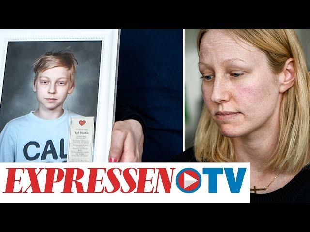 Jessicas son mördades bakom skola i Åkersberga