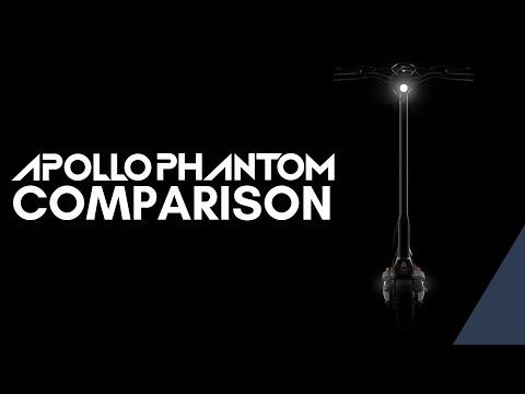 Building the Perfect Electric Scooter: APOLLO PHANTOM COMPARISON