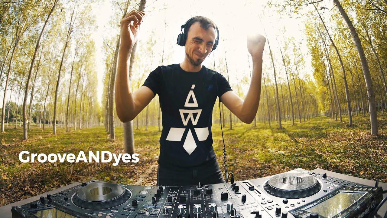 GrooveANDyes - Live @ Radio Intense Spain 20.10.2021 / Techno DJ Mix 4K