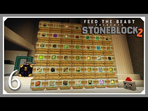 FTB Stoneblock 2 | Cursed Earth Mob Farm! | E06 (FTB