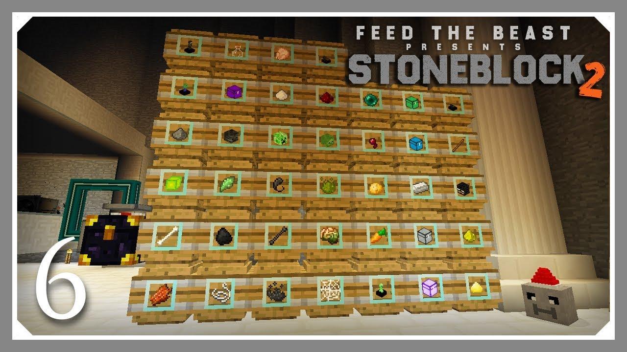 FTB Stoneblock 2   Cursed Earth Mob Farm!   E06 (FTB Stoneblock 2 Let's  Play)