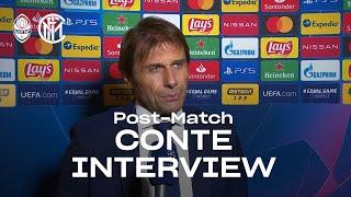 SHAKHTAR 0-0 INTER | ANTONIO CONTE EXCLUSIVE INTERVIEW: