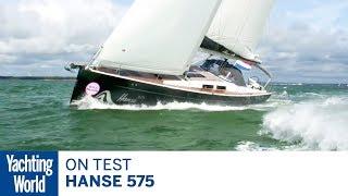 On test: Hanse 575