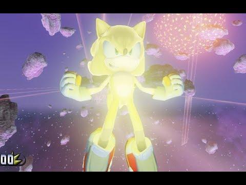 Sonic Souls (1080p/60fps) part 8 Spacial Bot BOSS/ENDING