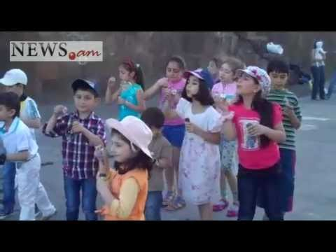 NEWS.am organizes celebration for children dedicated to Children's Day