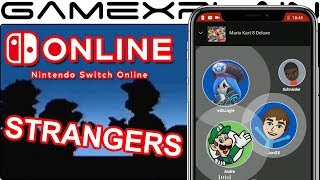 Whoa! Voice Chat Now Lets You Talk to STRANGERS Online! We Test It Out! (Switch Online App)