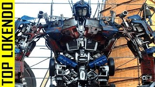 TOP 5  Los MegaRobots Gigantes más Increíbles del Mundo