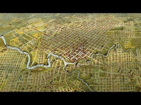 Houston Texas History and Cartograph (1891)