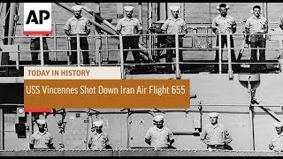 USS Vincennes Shot Down Iran Air Flight 655  - 1988  | Today In History | 3 July 18