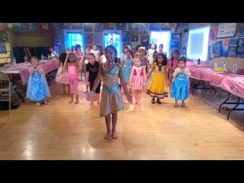 2015 Cinderella School of Dance Princess Camp