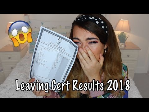 MY LEAVING CERT RESULTS 2018 + ADVICE