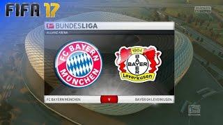 FIFA 17 - FC Bayern München vs. Bayer Leverkusen @ Allianz Arena