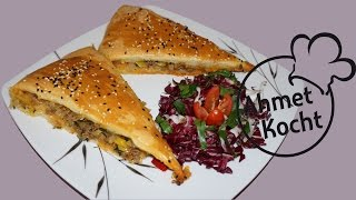 Rezept: Börek mit Hackfleisch und Lauch | AhmetKocht | türkisch kochen | Folge 159