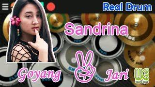 Download Sandrina - Goyang Dua Jari Real Drum Cover Mp3
