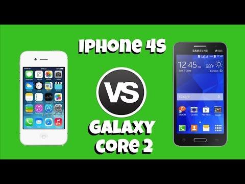 iPhone 4s vs Galaxy Core 2 ( 5 datos de Samsung y Apple que tal vez no sabias)
