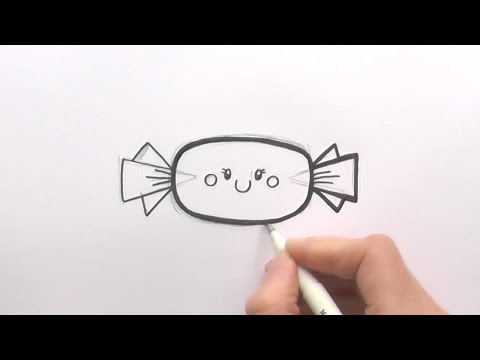 how-to-draw-a-cartoon-piece-of-candy-with-a-wrapper