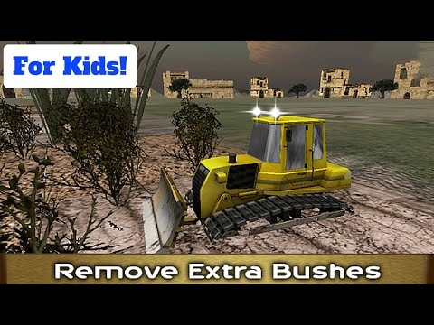 Town Construction Bulldozer l For Kids