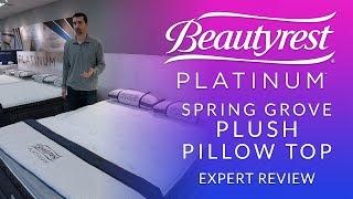 simmons beautyrest platinum spring grove plush pillow top mattress expert review