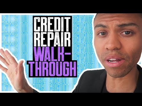 CREDIT REPAIR WALK-THROUGH || REMOVE COLLECTIONS NEGATIVE ACCOUNTS FAST || SECTION 609 CREDIT REPAIR