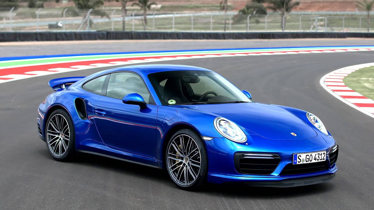2016 Porsche 911 Turbo Sapphire Blue Metallic Youtube