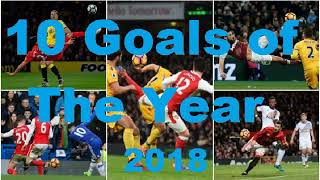 Best 10 goals of the year 2018 Pulse List 2018