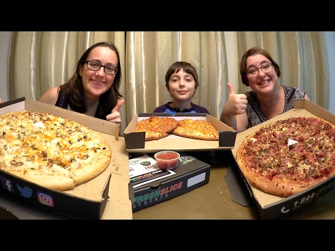 Best Pizza And Cheese Bread Feast  | Gay Family Mukbang (먹방) - Eating Show