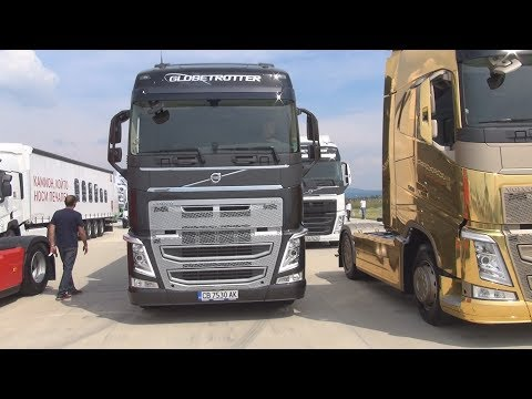 Volvo FH 500 Special Edition 2015 Globetrotter Black Exterior And Interior