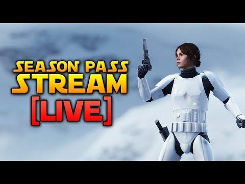 SEASON PASS STREAM - Star Wars Battlefront LIVE