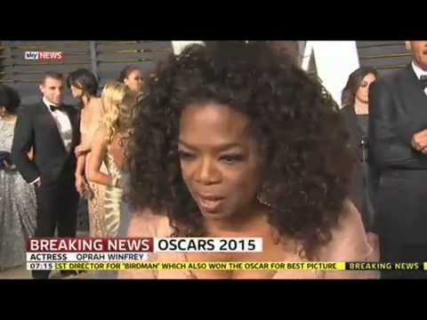 Oscars 2015: Oprah Winfrey On 'Selma' Song Success