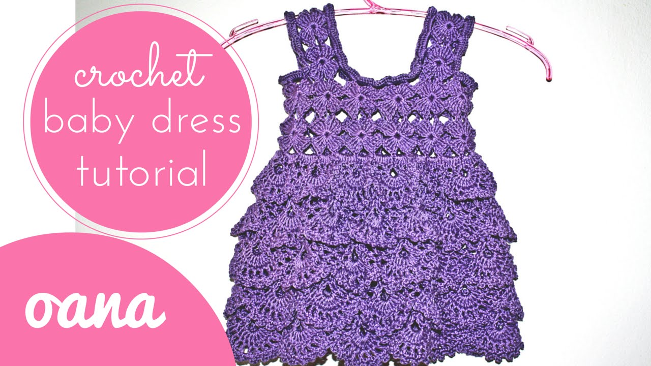Crochet baby dress youtube crochet baby dress bankloansurffo Choice Image