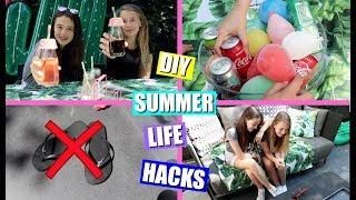 SUMMER LIFE HACKS | DIY EN HANDIGE TIPS VOOR DE ZOMER!