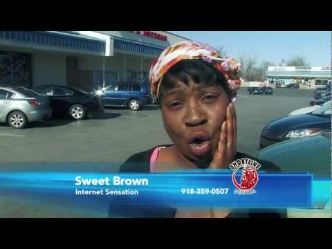 Sweet Brown Toothache? Aint Nobody Got Time for That!