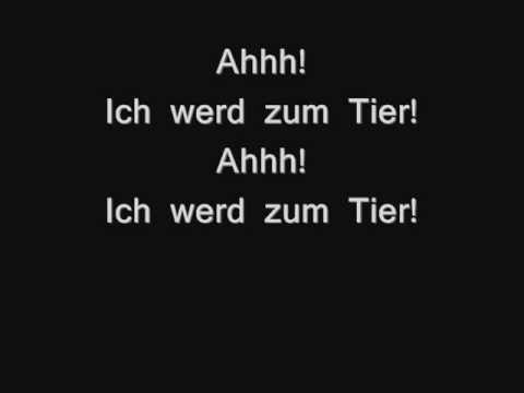Das Tier in Mir Lyrics