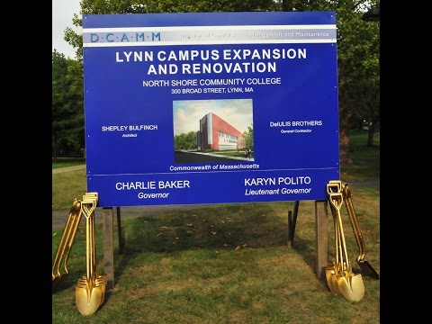 Groundbreaking: Lynn Campus Expansion and Renovation