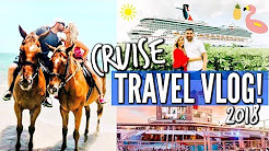 CARNIVAL CRUISE TRAVEL VLOG | 2018 CARNIVAL CONQUEST TO JAMAICA AND GRAND CAYMAN | Love Meg