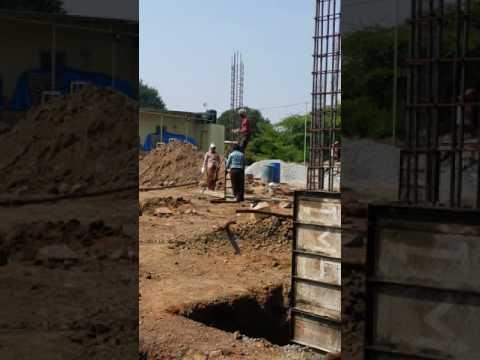 Pedestal Column footing
