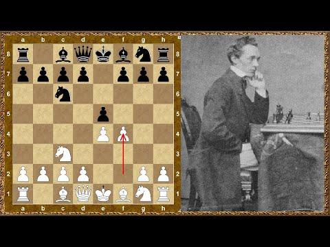 Партии старых мастеров. Paulsen Louis (GER) - Gunsberg Isidor A, 1889 Ch Germany Breslau (Poland)