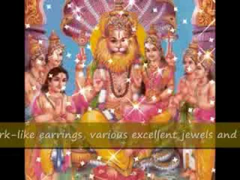 Sri Narasimha Ashtakam (with meanings)
