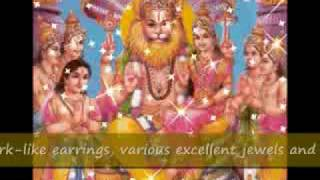Sri Narasimha Ashtakam (with meanings)