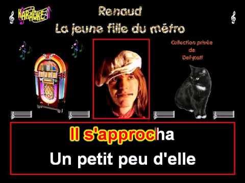 Renaud   La jeune fille du métro