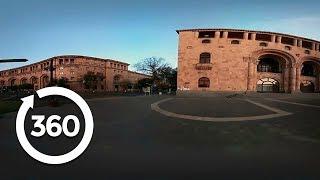Daybreak in Yerevan's Stunning Town Square   Yerevan, Armenia 360 VR Video   Discovery TRVLR thumbnail