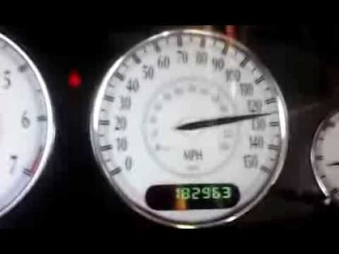2002 Chrysler 300M Special top speed test