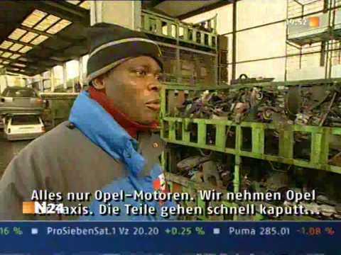 Automotoren Export für Afrika